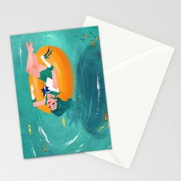 Summer Michiru Stationery Cards
