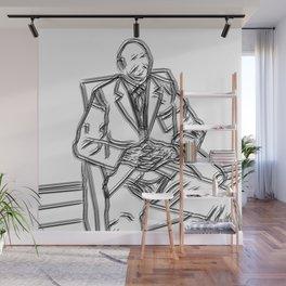 Business Man Portrait Wall Mural