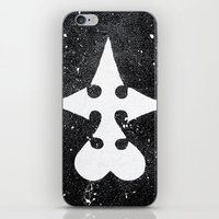 kingdom hearts iPhone & iPod Skins featuring Kingdom Hearts Nobodies Symbol by Herk Designs