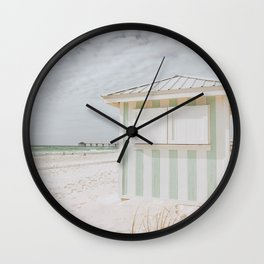 summer beach xxiii Wall Clock