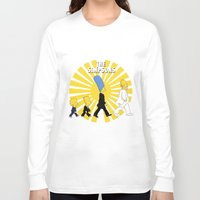 simpson Long Sleeve T-shirts featuring Simpson Sun by sgrunfo