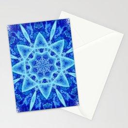 Ice Matrix Mandala Stationery Cards
