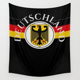 Deutschland ...German Flag and Eagle Wall Tapestry