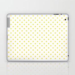 Dots (Gold/White) Laptop & iPad Skin