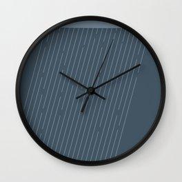 Rainy Wall Clock