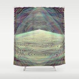 Crystallized Vibration Shower Curtain