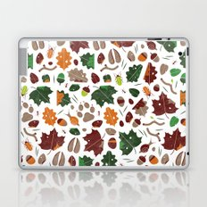 Forest floor tile pattern Laptop & iPad Skin