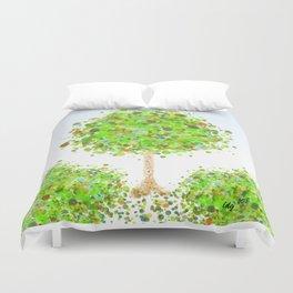Spring Foliage Duvet Cover
