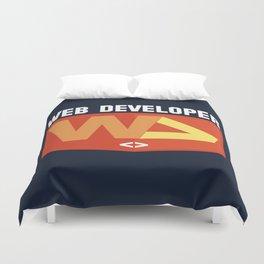 Web developer Duvet Cover
