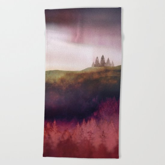 Scarlet Light Beach Towel