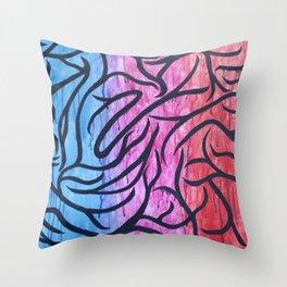 Piercing Throw Pillow