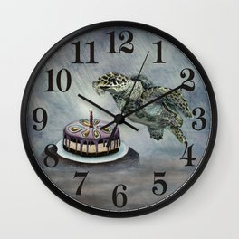 Turtle Birthday Wall Clock