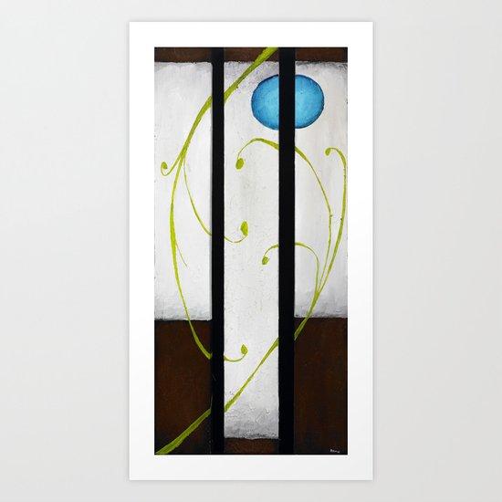 Neptune's Vineyard Art Print