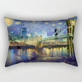 Van Gogh Comes to Cincinnati Rectangular Pillow