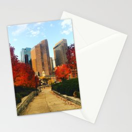 Boston: Follow Me into the Fall Stationery Cards
