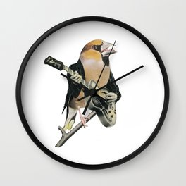 Rock Chick Wall Clock