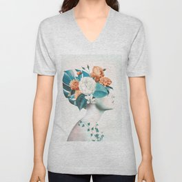 Floral beauty 3 Unisex V-Neck