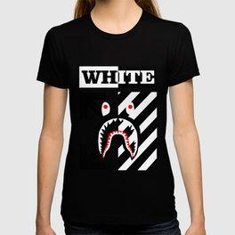X Off White bape T-shirt