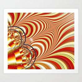 After Burner Art Print