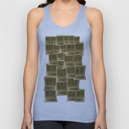 A to Z  Unisex Tank Top