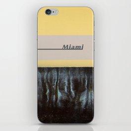 Miami Waterline Project iPhone Skin