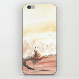 Blossom of a stagnant mind iPhone Skin