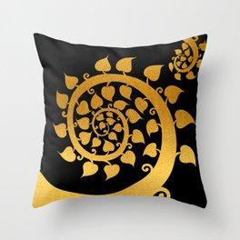 Bodhi Tree0609 Throw Pillow