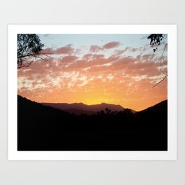 Bright Sunset Art Print