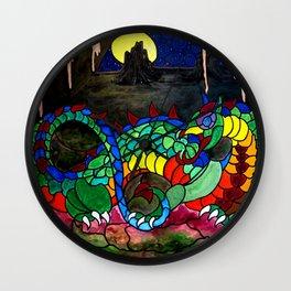 Draco, Dragon of the North Wall Clock