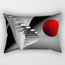 go upstairs -2- Rectangular Pillow