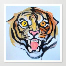 Roaring Tiger Canvas Print