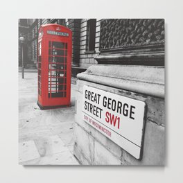Great George Street (v.2 : square) Metal Print