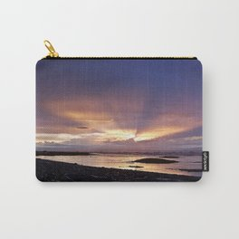Beams of Light across the Sky Carry-All Pouch