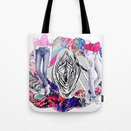 Vulva & Legs Tote Bag