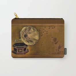 His Master's voice Carry-All Pouch
