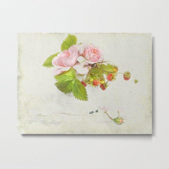 roses & berries N°3 Metal Print