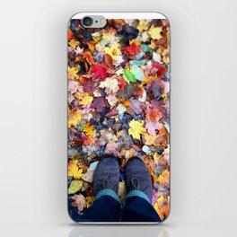 Fall Leafs iPhone Skin