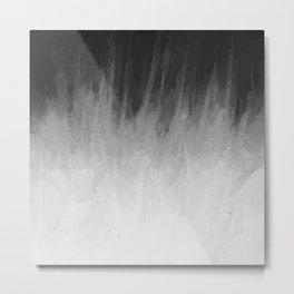 Ice Rays in a Black Sky Metal Print