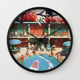 Hotel Koi Wall Clock