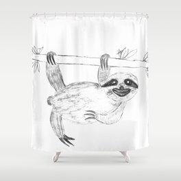 Maya's Sloth Shower Curtain