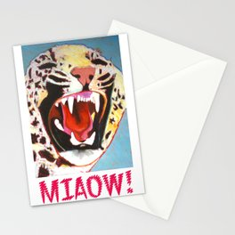 Big Cat Miaow! Stationery Cards