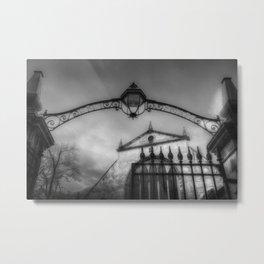Greyfriars Kirk Cemetery Edinburgh Metal Print