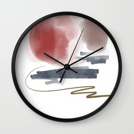 Introversion IX Wall Clock