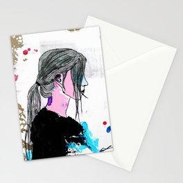 Fünf Mädchen. Stationery Cards