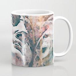 Watercolor Statue Of King David - Modern Gallery Art Coffee Mug
