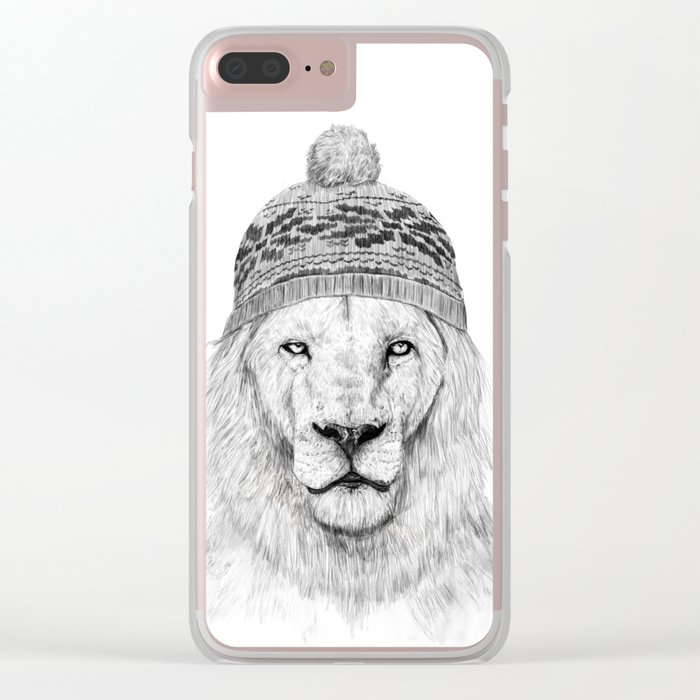 Winter is here I Clear iPhone Case