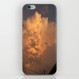 Orange Hue iPhone Skin