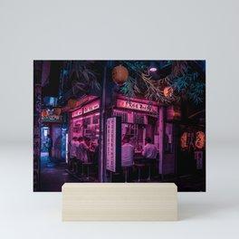 Ramen Corner in Tokyo Mini Art Print