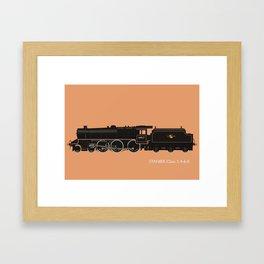 Stanier Black 5 4-6-0 Framed Art Print