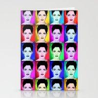 emma watson Stationery Cards featuring Emma Watson by Joe Hilditch